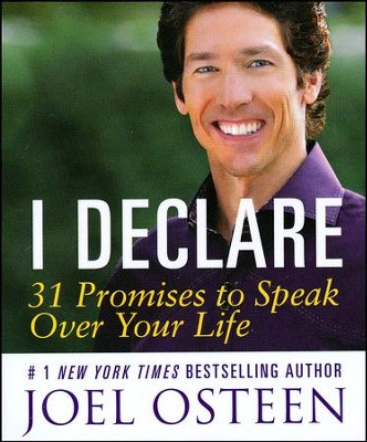I Declare: 31 Promises to Speak Over Your Life, Miniature Edition  -     By: Joel Osteen