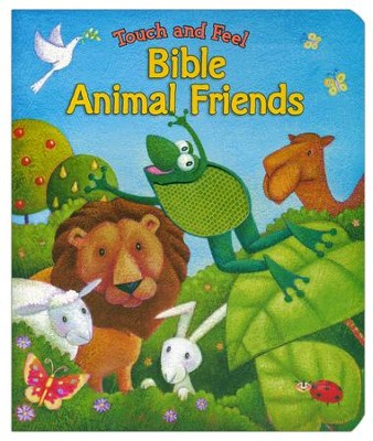 Touch and Feel Bible Animal Friends  -     By: Allia Zobel-Nolan