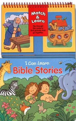 Match & Learn: I Can Learn Bible Stories  -     By: Gwen Ellis     Illustrated By: Dana Regan