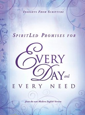 SpiritLed Promises for Every Day and Every Need: Insights from Scripture from the New Modern English Version - eBook  -     By: Charisma House