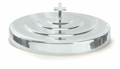 Silverplated Communion Tray Cover Small Group 7 Inch  -     By: Artistic Churchware