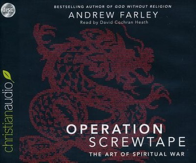 Operation Screwtape: The Art of Spiritual War Unabridged Audiobook on CD  -     Narrated By: David Cochran Heath     By: Andrew Farley