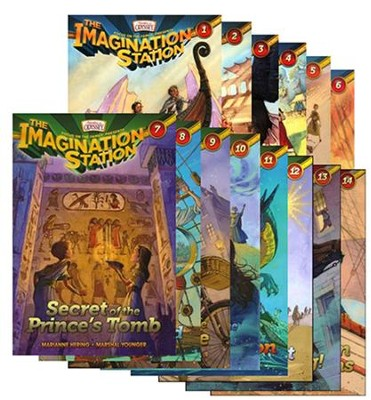 Adventures in Odyssey The Imagination Station ® - Volumes 1 -14  -     By: Marianne Hering, Marshal Younger