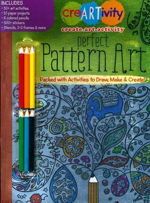 Perfect Pattern Art Activity Book  -