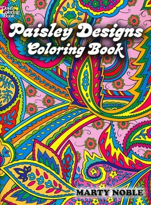 Paisley Designs Coloring Book  -     By: Marty Noble
