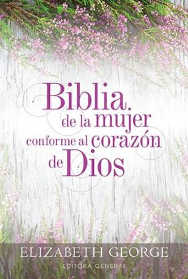 Biblia de la mujer conforme al corazon de Dios RVR 1960 (The Bible for Women After God's Own Heart)   -     By: Elizabeth George