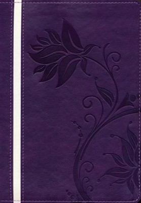 Biblia de la Mujer Conforme al Corazon de Dios, RVR 1960, Morado  (Bible for Women After God's Own Heart, RVR 1960, Purple)  -     By: Elizabeth George