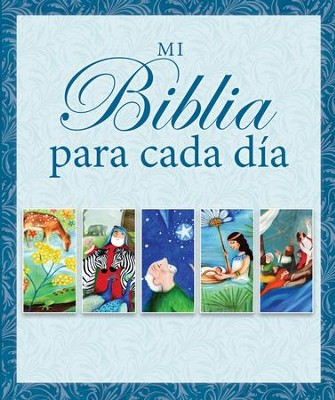 Mi Biblia para cada d&#237a, Candle Day by Day Bible  -     By: Juliet David, Jane Hayes