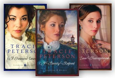Sapphire Brides Series, Volumes 1-3  -     By: Tracie Peterson