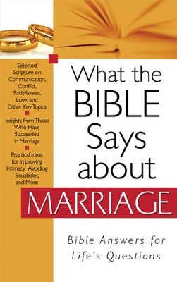 What the Bible Says about Marriage - eBook  -