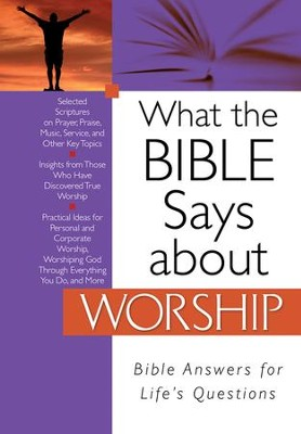 What the Bible Says about Worship - eBook  -     By: Christopher D. Hudson