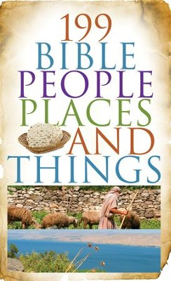 199 Bible People, Places, and Things - eBook  -     By: Jean Fischer