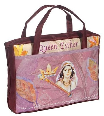 Queen Esther Bible Cover    -
