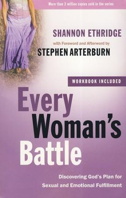 Every Woman's Battle with Workbook: Discovering God's Plan for Sexual and Emotional Fulfillment - Slightly Imperfect  -     By: Shannon Ethridge