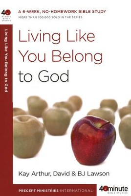 Living Like You Belong to God - Slightly Imperfect  -