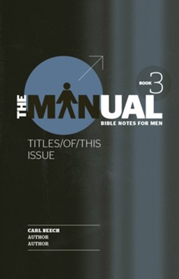 The Manual-Book 3: Son/See/Surf  -     By: Carl Beech