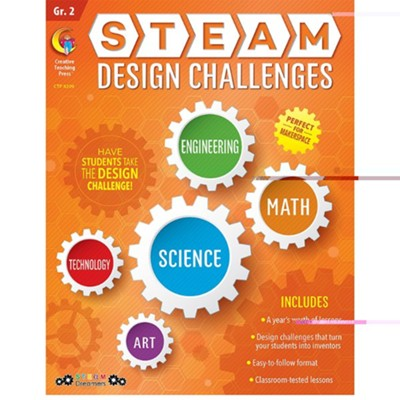 STEAM Design Challenges Resource Book, Grade 2   -