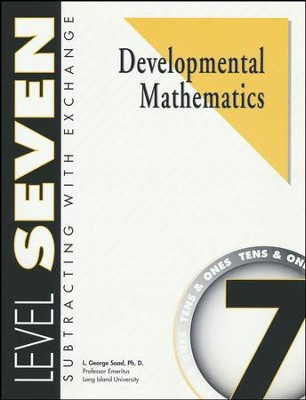 Developmental Math, Level 7, Student Workbook   -     By: L. George Saad