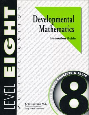 Developmental Math, Level 8, Educator's Guide   -     By: L. George Saad