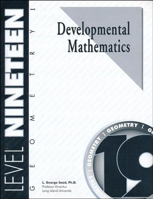 Developmental Math, Level 19, Geometry I   -     By: L. George Saad