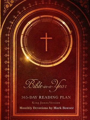Bible-in-a-Year: 365 Day Reading Plan King James Version - eBook  -