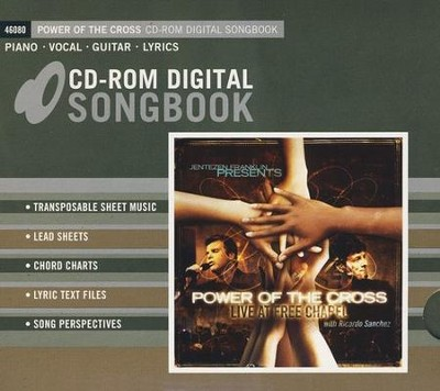 Power of the Cross: Live At Free Chapel (CD-ROM Digital Songbook)  -     By: Ricardo Sanchez