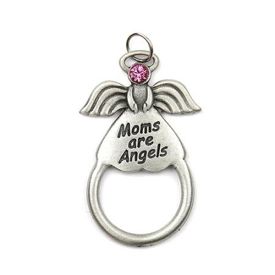 Moms Are Angels Eyeglass and Badge Holder  -