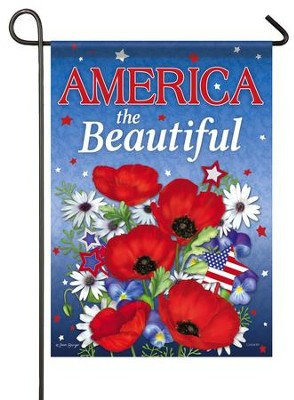 America The Beautiful, Small Flag  -     By: Joan Beiriger