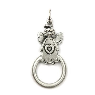 Angel with Heart Eyeglass and Badge Holder  -
