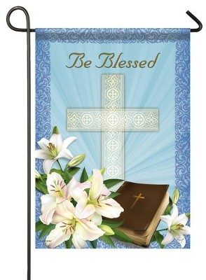 Be Blessed Easter, Small Flag  -     By: Sinead Jones