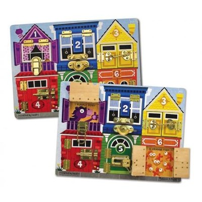 Latches Board  -     By: Melissa & Doug