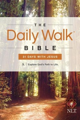 The Daily Walk Bible NLT: 31 Days with Jesus - eBook  -