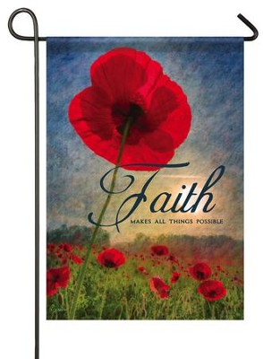 Faith Makes All Things Possible, Small Flag  -