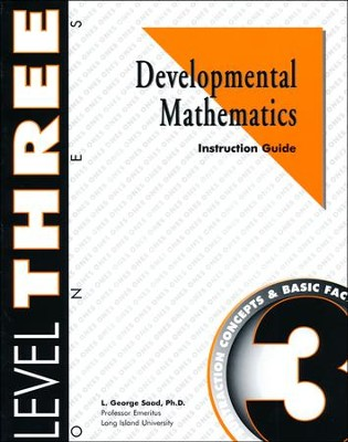 Developmental Math, Level 3, Educator's Guide   -     By: L. George Saad