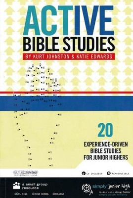 Simply Youth Ministry: Active Bible Studies CDROM       -     By: Kurt Johnson, Katie Edwards