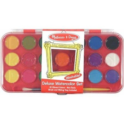 Deluxe Watercolor Set   -     By: Melissa & Doug