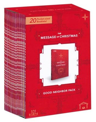 The Message of Christmas 20 pack  -     By: Eugene H. Peterson