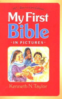 My First Bible in Pictures--hardcover, red   -     By: Kenneth Taylor