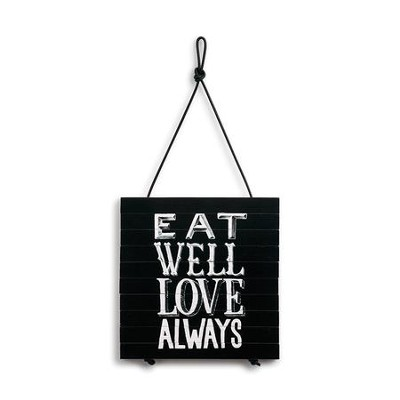 Eat Well Love Always Expandable Trivet  -
