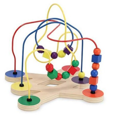 Classic Toy Bead Maze   -     By: Melissa & Doug