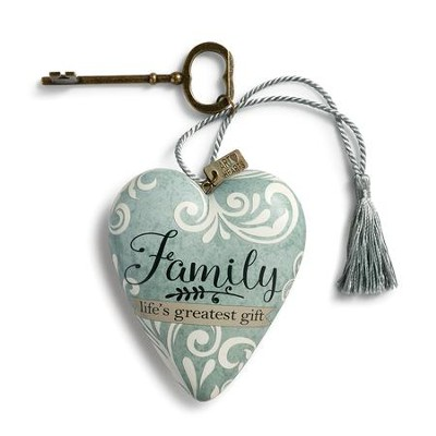 Family Life's Greatest Gift, Art Heart  -