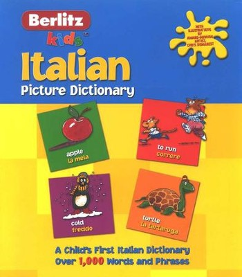 Berlitz Kids Italian Picture Dictionary   -
