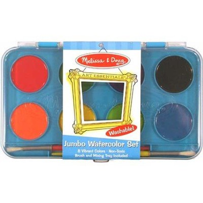 Jumbo Watercolor Set   -     By: Melissa & Doug