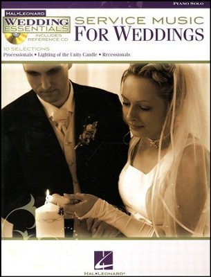 Service Music for Weddings--Book and CD   -