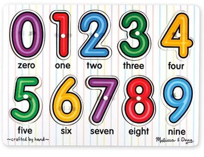 See-Inside Numbers, Peg Puzzle   -     By: Melissa & Doug
