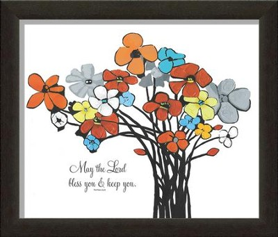 May The Lord Bless You And Keep You Framed Art  -