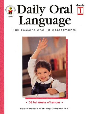 Daily Oral Language Grade 1  -     By: Gregg Byers