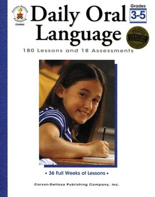 Daily Oral Language Grades 3-5  -     By: Gregg Byers
