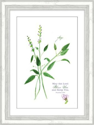 May the Lord Bless You and Keep You, Numbers 6:24, Framed Art  -