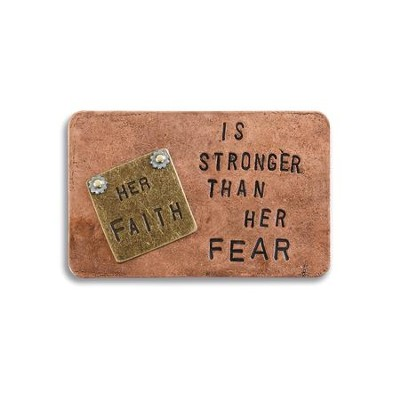 Her Faith is Stronger Inspire Card  -     By: Kris Binseld